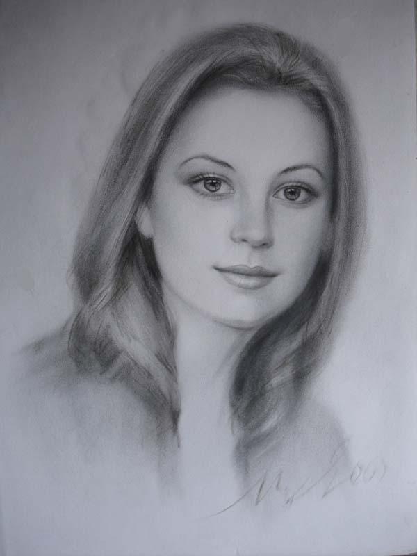 Ярослав Цико - художник portret_zhenski_8 (517x698, 58 Kb) .